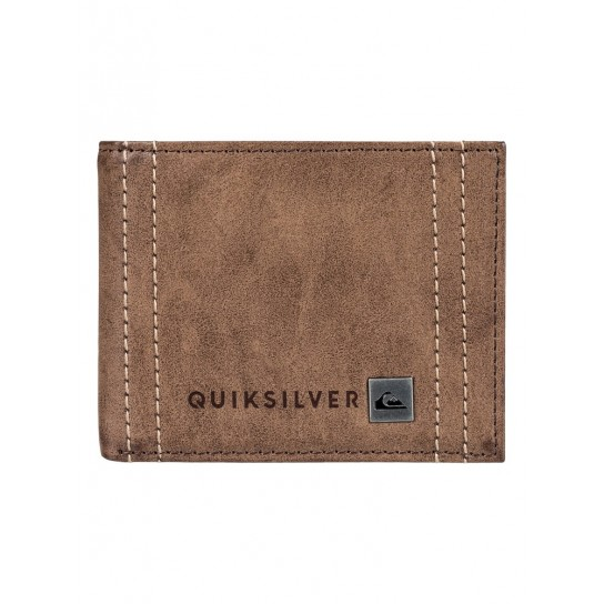 Carteira Quiksilver Stitchy - Chocolate