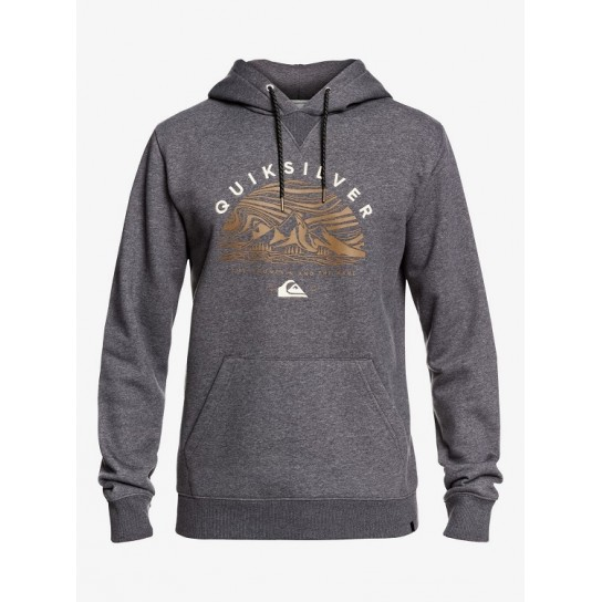 Sweat Quiksilver Big Logo - Cinzento