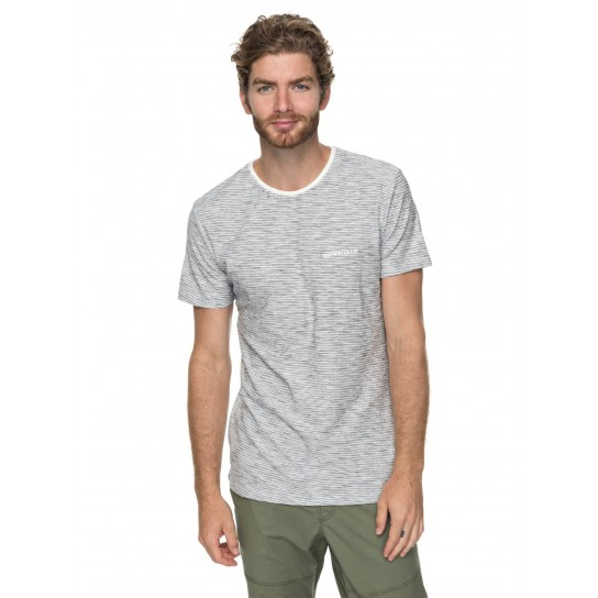 T-shirt Quiksilver Ken Tin - Snow White Kentin