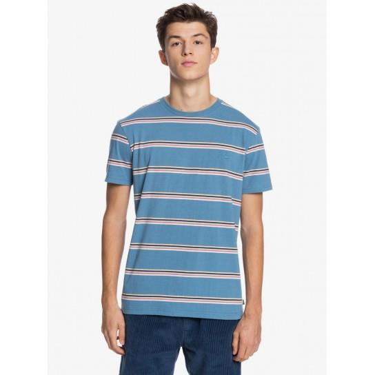 T-shirt Quiksilver Coreky Mate - Captain Blue