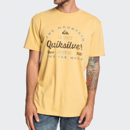 T-shirt Quiksilver Drop in Drop - Amarela
