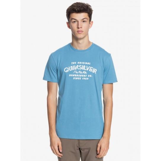 T-shirt Quiksilver Wider Mile - Azul