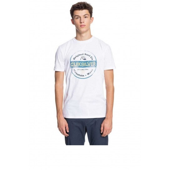 T-shirt Quiksilver From Days Gone - Branco