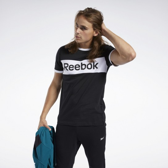 T-shirt Reebok Linear Logo Color Blocked SS