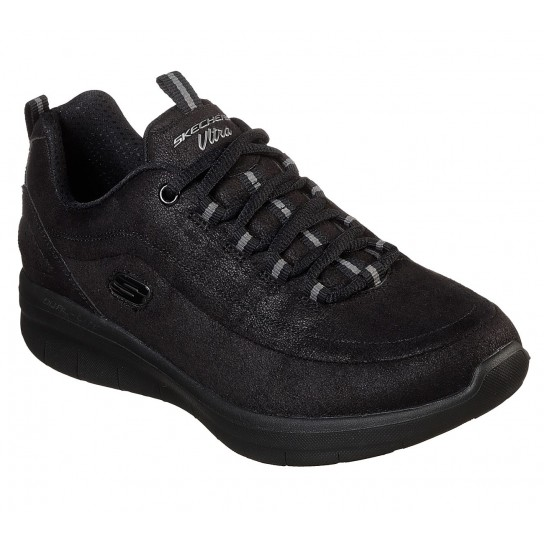 Skechers Synergy 2.0 Comfy Up - Preta