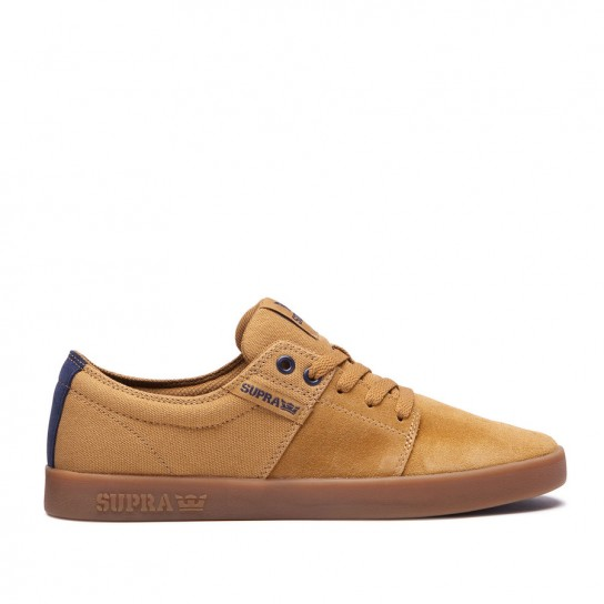 Supra Stacks II Tan/Navy