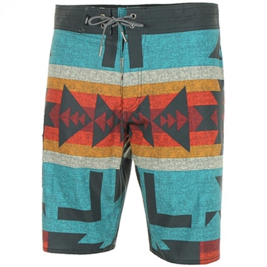 Boardshort NF Tile Blue Vans